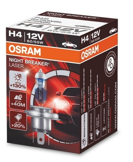 Picture of H4 Night Breaker Laser