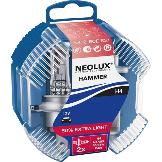 Picture of H4 Neolux Hammer Extra Light Duo